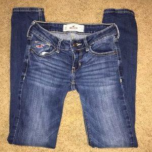 Hollister 0S W24 L29 denim blue jeans